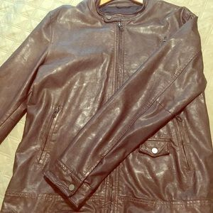 Zara Mens leather jacket